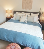 A Master Bedroom Goes Hygge