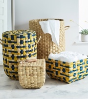 Get Organized With Baskets