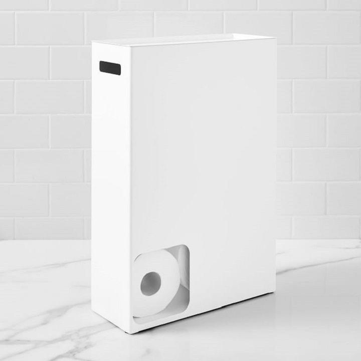 Bathroom Organization Ideas - Toilet Paper Storage
