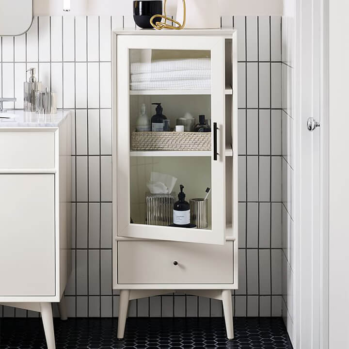 Mid-Century Bathroom Cabinet