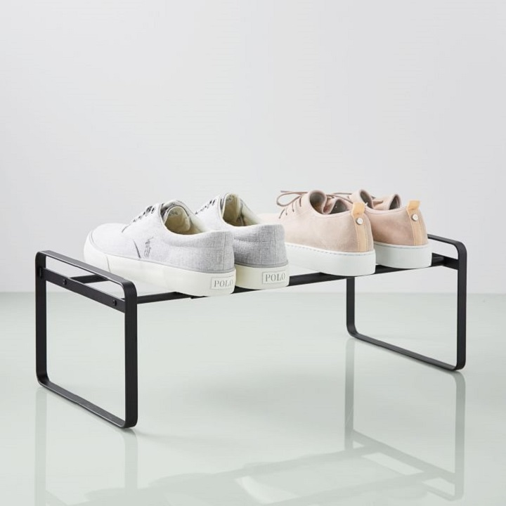 Closet Organization Ideas - Slim Shoe Rack