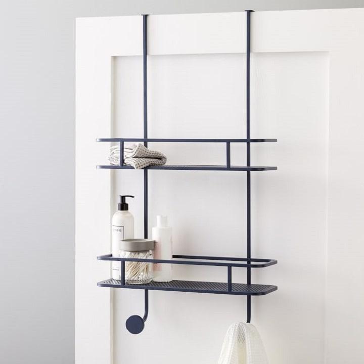 Bathroom Organization Ideas - Over the Door Storage