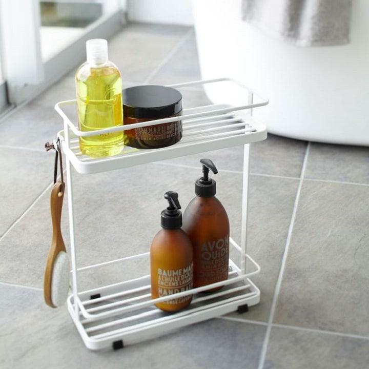 Bathroom Organization Ideas - Storage Cart