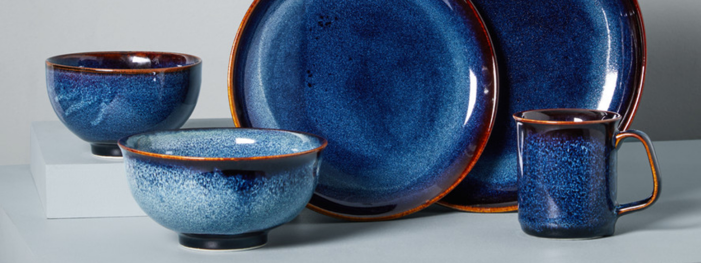 ocean waves porcelain dinnerware collection