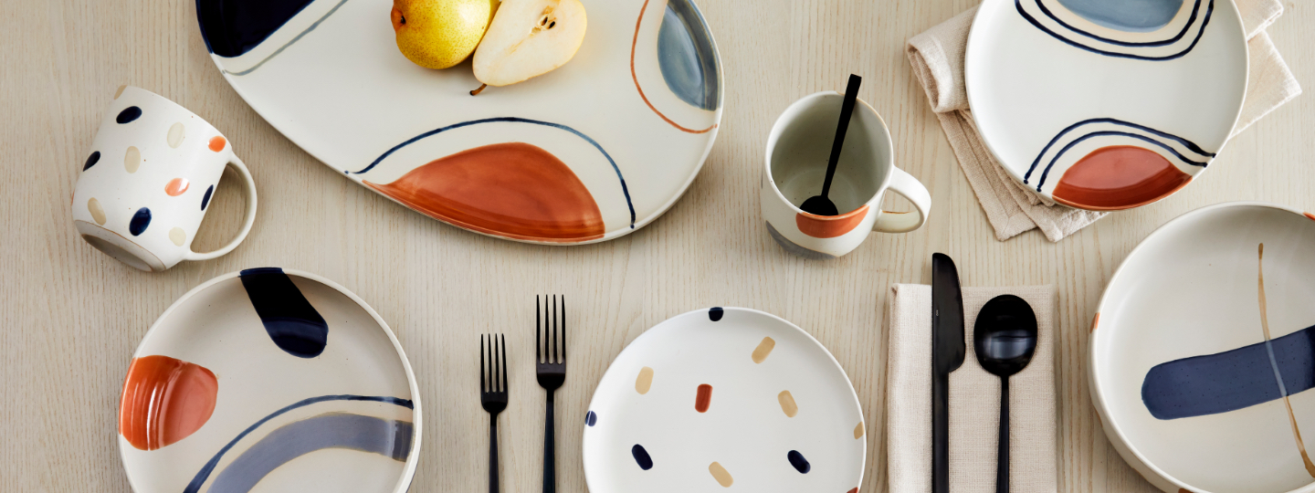 sway dinnerware collection