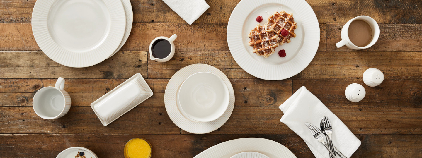textured stoneware dinnerware collection