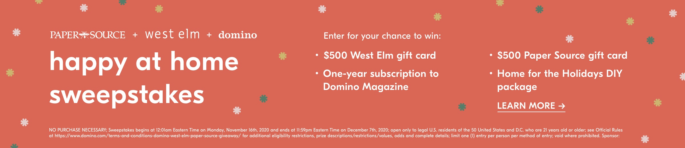 happy at home sweepstakes