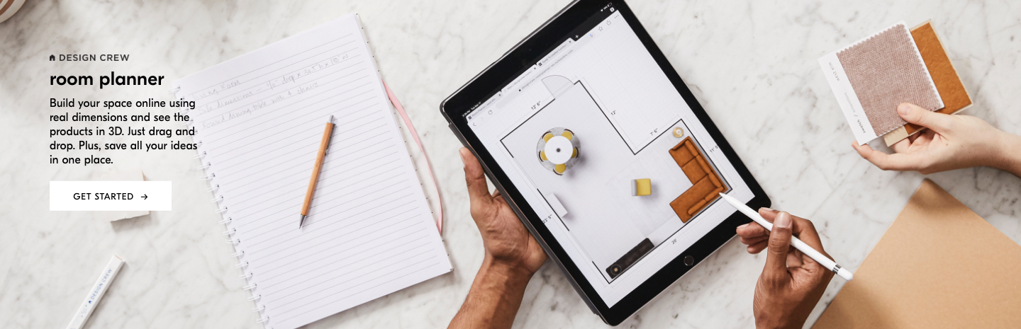 Design Crew Room Planner: Build your space online using real dimensions and see the products in 3D. Just drag and drop. plus, save all your ideas in one place.