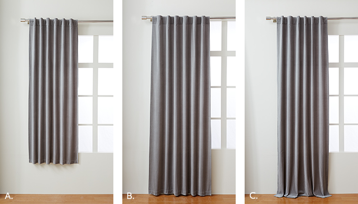 Choose The Right Curtain Length, How To Pick Curtain Length