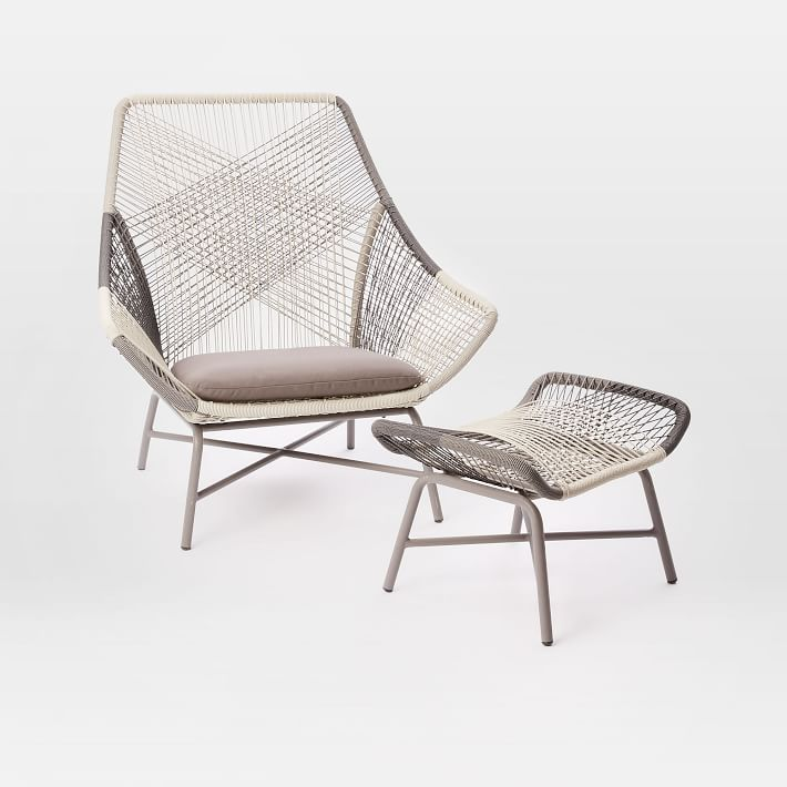 Huron Outdoor Lounge Chair