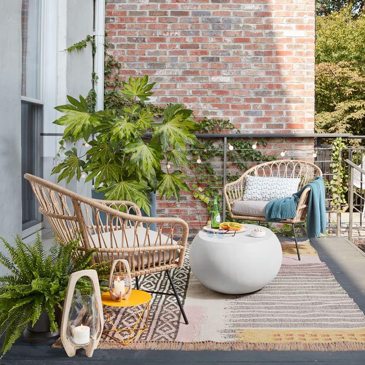 Palma Outdoor Ratan Chairs
