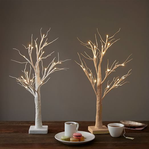 Led Tabletop Trees