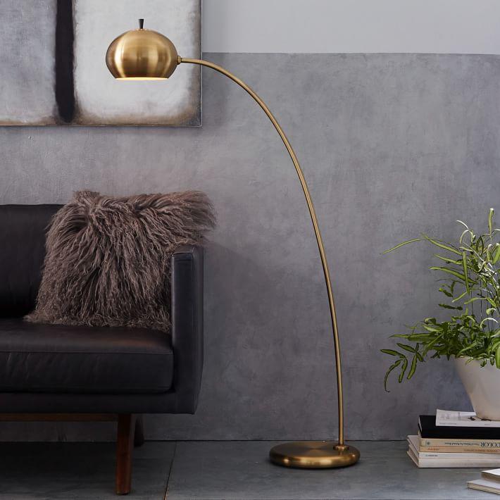 Pee Arc Metal Floor Lamp