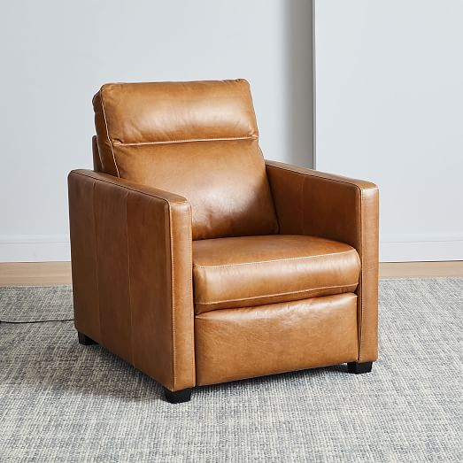 Harris Leather Power Recliner