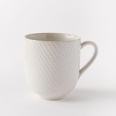 Textured Mugs (Set of 4)