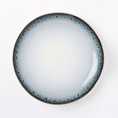 Reactive Stoneware Dinner Plates