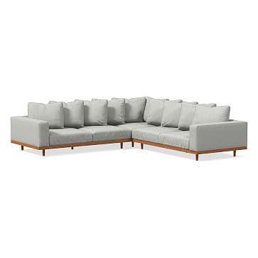 Newport Sectional Set 03 Left Arm Sofa Corner Right Arm