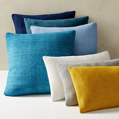 Silk Hand-Loomed Pillow Covers