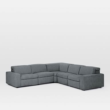 Enzo 5-Piece L-Shaped Reclining Sectional
