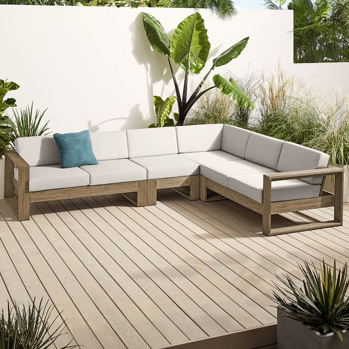 Portside Outdoor 4 Piece Sectional