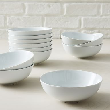 White Porcelain Dinnerware - Party Set