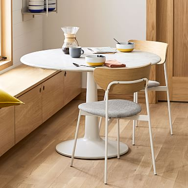 Liv Round Marble Dining Table