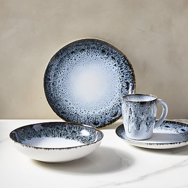 Reactive Glaze Stoneware Dinnerware Sets