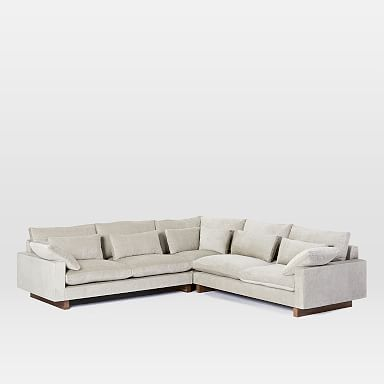 Harmony 3-Piece L-Shaped Sectional