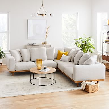 Newport 3-Piece L-Shaped Sectional