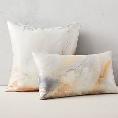 Airy Brocade Pillow Cover