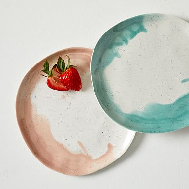 Seaside Melamine Dinner Plates