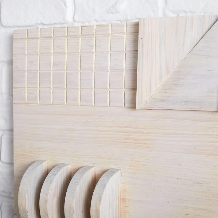 Diego Olivero Hand Cut Wood Wall Art | West Elm