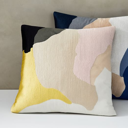 Abstract Art Palette Pillow Cover