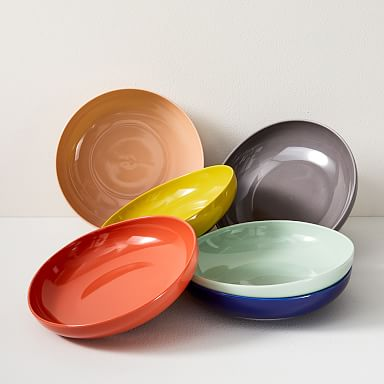 Organic Shaped Low Bowls