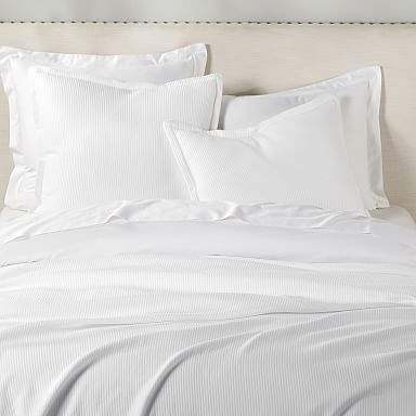 Design Crew Basics Ribbed Matelasse Coverlet & Shams