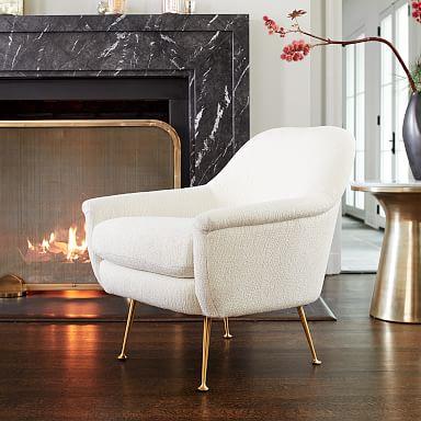 Phoebe Chair - Metal Legs