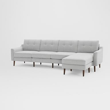 """Burrow Nomad King Reversible Chaise Sectional (112"""")"""