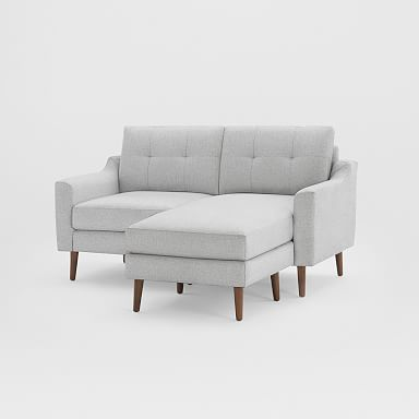 """Burrow Nomad Loveseat Reversible Chaise Sectional (61"""")"""
