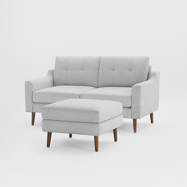"""Burrow Nomad Loveseat with Ottoman (61"""")"""