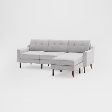 """Burrow Nomad Reversible Chaise Sectional (86.5"""")"""