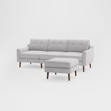 "Burrow Nomad Sofa with Ottoman (86.5"")"