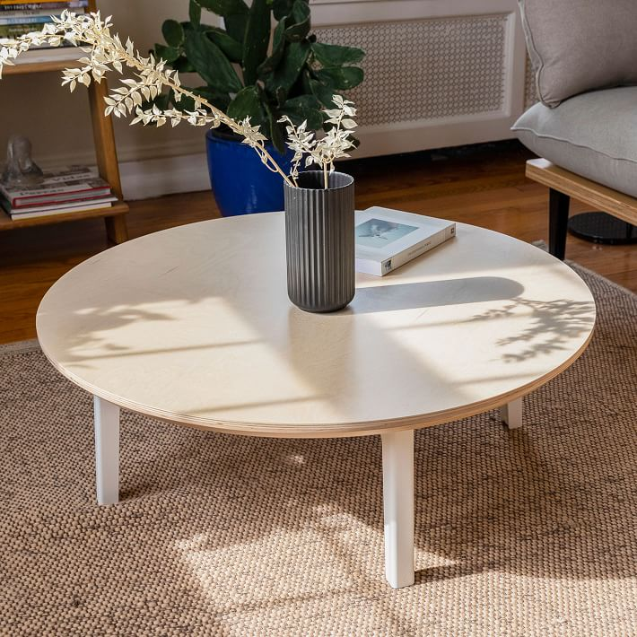 The Floyd Round Coffee Table