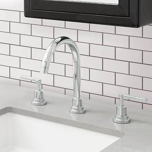 Subway Tile Peel Stick Backsplash