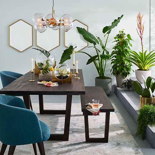 40+ West Elm Dining Room Table Images