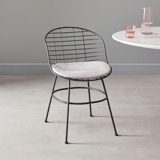 Zeke Indoor Outdoor Dining Chair Seat Cushion