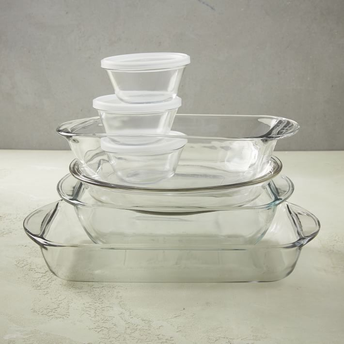 Anchor Hocking 10 Piece Glass Bakeware Set