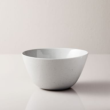 Richmond Stoneware Cereal Bowls, White