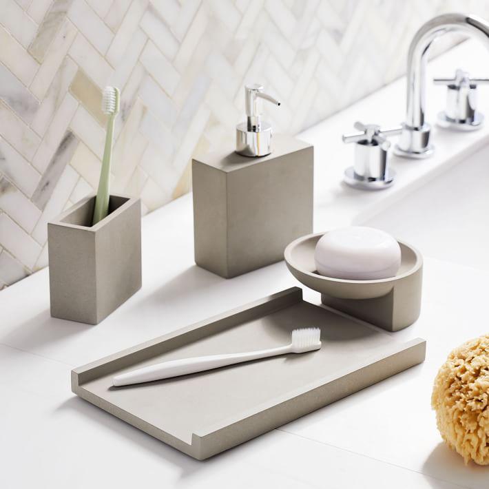 Metro Cement Bathroom Accessories