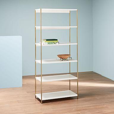 Zane Wide Bookshelf
