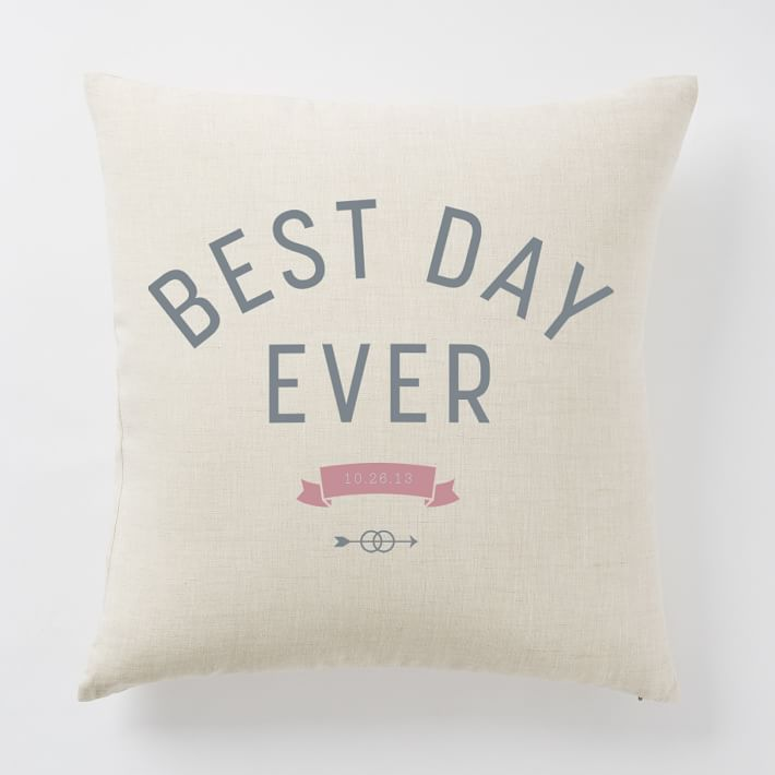 Happily Ever After Pillow Covers Best Day Ever